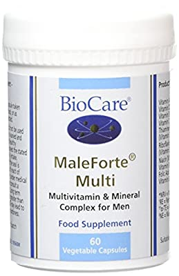 BioCare MaleForte Multi Vegetable Capsules, Pack of 60 by BioCare