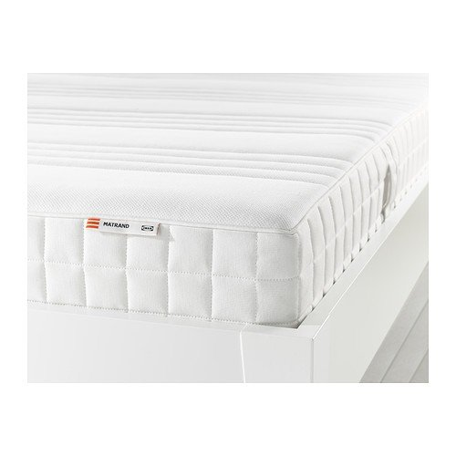 IKEA MATRAND memoria colchón de espuma de blanco; A; (160 x 200 cm)