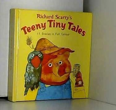 Richard Scarry's Teeny Tiny Tales: 11 Stories