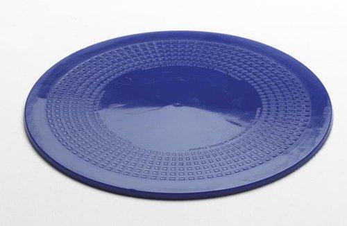 Rutschfeste Unterlage aus Dycem-Material (kreisrund, Durchmesser 14cm, blau)