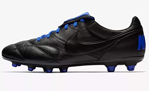 Nike Volwassenen Premier Ii Fg Voetbalschoenen Multi kleuren Zwart/Racer Blauw 040, 6 UK