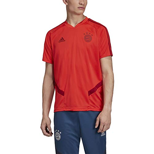 adidas Men's Bayern Munich Training Jersey 2019-20 (X-Large) FCB True Red/Active Maroon