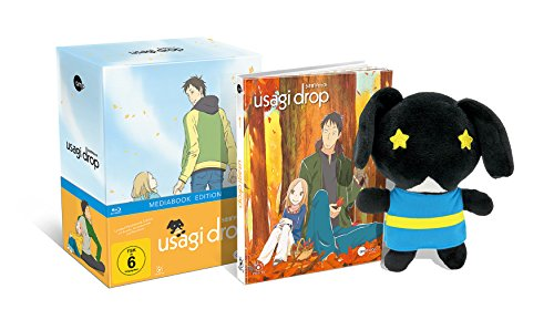 Usagi Drop - Vol.1 - Limited Mediabook (inkl. Plüschhase & Sammelschuber) [Blu-ray]
