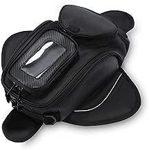 Motorcycle Tank Bag Waterproof with Strong Magnetic Motorbike Bag for Honda Yamaha Suzuki Kawasaki Harley Small