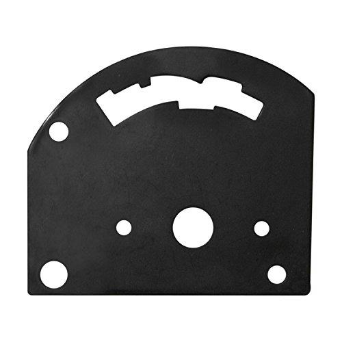 B&M 80710 3-Speed Reverse Pattern Gate Plate for Pro Stick Automatic Shifter