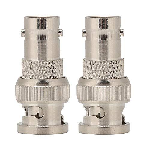 Wendry BNC-adapter, 2PCS BNC naar JK adapter converterkop voor antenne Digital Communication System Radio, sterk en duurzaam