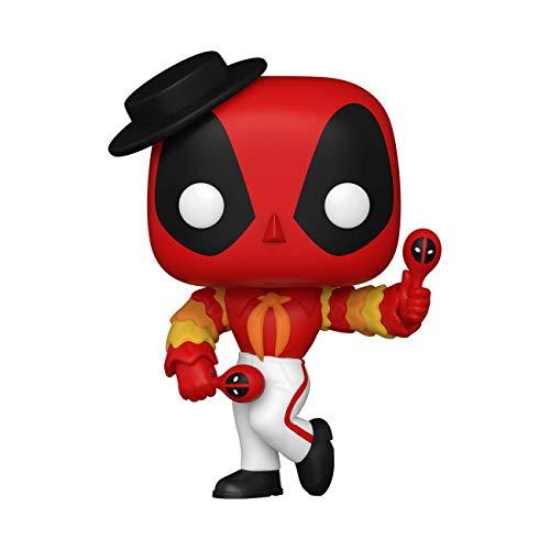 Funko 54656 POP Marvel Deadpool 30th- Flamenco Deadpool