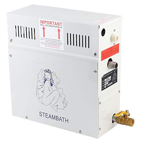Crisis Generatore per Bagno di Vapore, 4.5KW 220V Controllo Automatico della Temperatura Generatore di Vapore Display a LED Doccia Sauna Riscaldatore per Bagno di Vapore per Sauna Domestica Spa