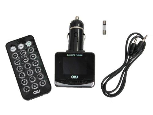 AIV FMT893 RDS FM Transmitter Schwarz