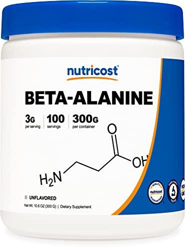Nutricost Beta Alanine Powder 300 Grams