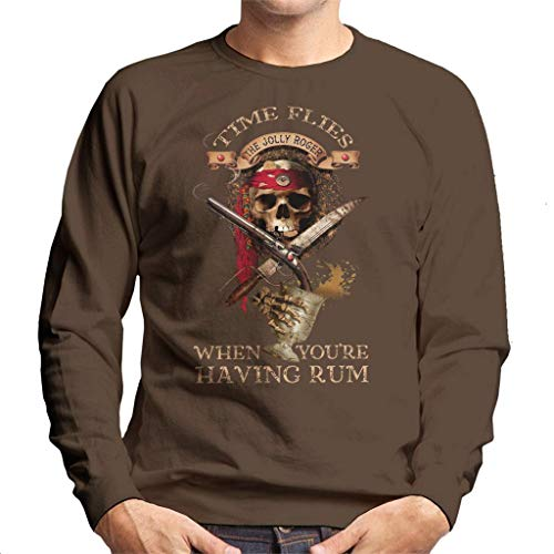 Cloud City 7 Time Flies When Youre Having Rum Men's sweatshirt