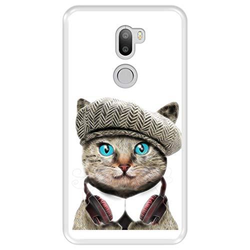 Hapdey Custodia per [ Xiaomi Mi5s Plus - Mi 5s Plus ] Disegni [ Gatto Divertente Britannico ] Cover Guscio in Silicone Flessibile Transparente TPU