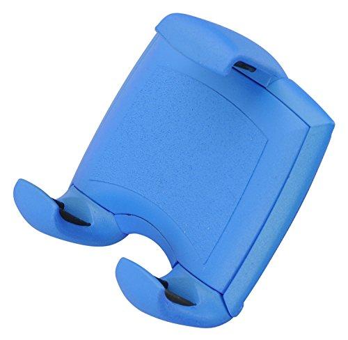 hr-imotion Universal Lüftungshalterung Quicky Air Pro für Smartphones / Handys zwischen 58 & 84mm [5 Jahre Garantie I Made in Germany I 360 Grad drehbar I vibrationsfrei I Einhandbedienung] blau