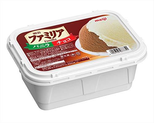 [冷凍] 明治 ファミリア バニラ&チョコ 2000ml