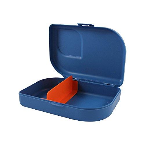 ajaa! Bio NANA BROTBOX blue - Lunch-Box aus nachwachsenden Rohstoffen