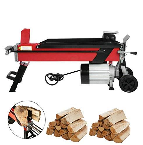Compacta de 7 toneladas eléctrico Log Splitter Fast má