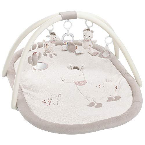 Fehn 058017 3-D-Activity-Decke Peru – Spielspaß zum Fühlen & Greifen für Babys und Kleinkinder ab 0+ Monaten – Maße: 80 x 105 cm