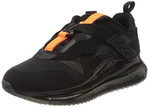 Nike Herren Air Max 720 Slip/Obj Laufschuh, Black/Black-Total Orange, 44 EU