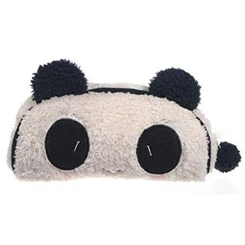 Busirde 1pcs Panda Peluche Douce Trousse Stylo Poche zippée Porte-Sac Pochette
