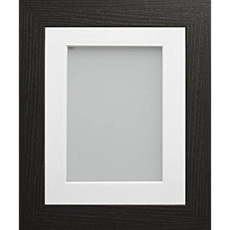 Frame Company Watson Range 16 X 12 Inch Black Picture Photo Frame With White Mount For Image Size 14 X 10 Inch Amazon Co Uk Kitchen Home
