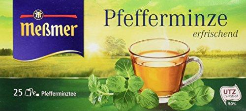 Meßmer Pfefferminze, 12er Pack (12 x 25 Beutel, 56,25 g)