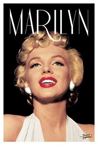 Pyramid America Bernard of Hollywood Marilyn Monroe Head Shot Cool Wall Decor Art Print Poster 24x36