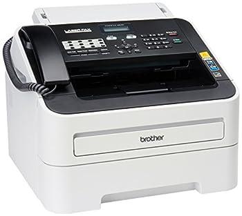 Brother FAX-2840 High Speed Mono Laser Fax Machine Dark/light gray - FAX2840