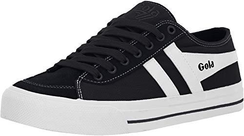 Gola Damen Quota II Sneaker, Schwarz (Black/White BW), 39 EU
