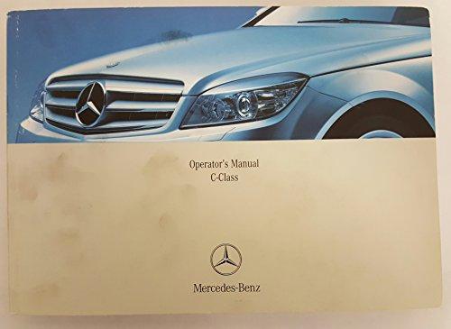 2008 Mercedes C Class Sedan C-Class Owners Manual