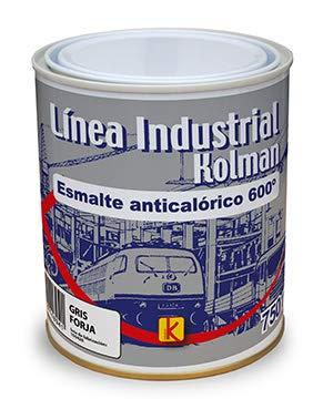 Esmalte anticalórico 600 °c gris forja. Pintura anticalórica alta temperatura (750 ml.)