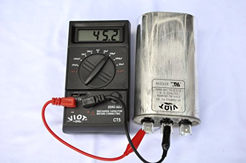 Portable Digital Capacitor Tester:Wide Range Large Capacity Model CT5...