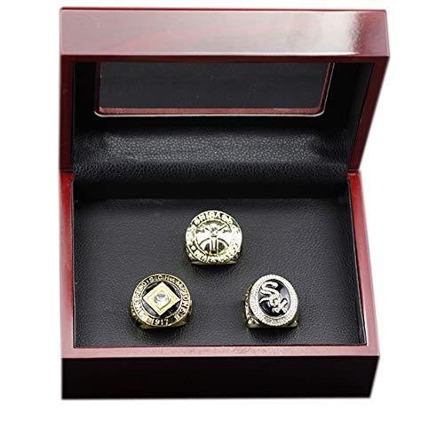 MLB 1906 1917 2005 Baseball World Series Championship Ring Set Anillos de Hombre, Championship Anillo de réplica Personalizado Anillos de Diamantes para Hombres,with Box,11#