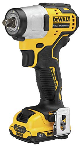 DEWALT XTREME 12V MAX Impact Wrench, Cordless Kit, 3/8-Inch (DCF902F2)