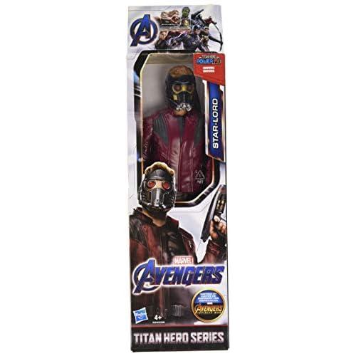 Hasbro Marvel Avengers- Endgame Star-Lord Titan Hero Compatibile con Power FX, Non Incluso, Action Figure, Multicolore, 30 cm, E3849ES0