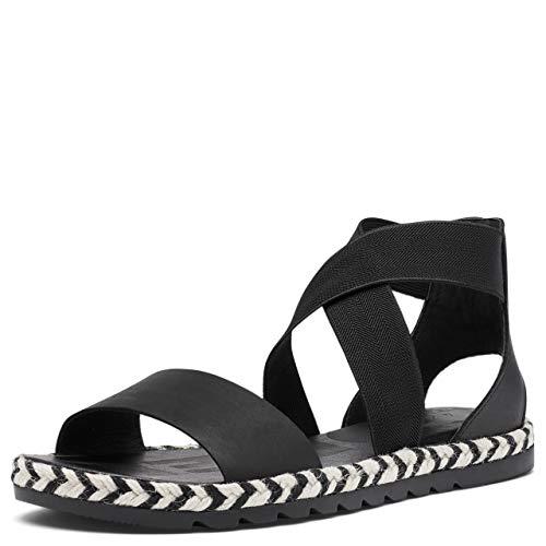 Sorel Women's Ella II Sandal - Black, Arrow - Size 10
