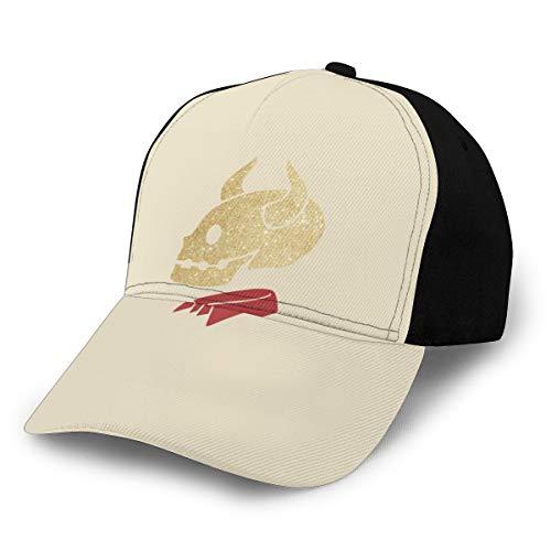 N/ Buffy The Vampire Slayer's Glitter Devil Shirt Baseball Hat Verstellbare Kappe Schwarz