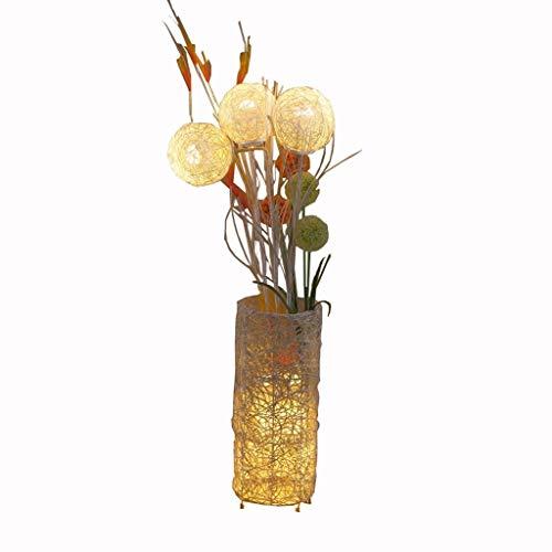 Vloerlamp verstelbaar eenvoudig modern LED oog lamp vloerlamp Nordic woonkamer verticale slaapkamer decoratie lamp rotan vloerlamp huisverlichting