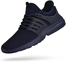 Troadlop Mens Tennis Shoes Non Slip Running Sneakers Mesh Lightweight Comfortable Casual Walking Gym Slip On Athletic Workout Shoes Navy 12