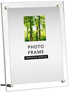 Modern Acrylic Photo Frame - Desktop/Free Standing(8x10)