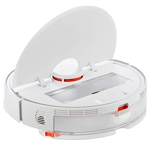 S5 Max Robot Aspirador de Pó Sweep Mop 2 em 1 formato redondo 2500Pa potência de sucção máquina inteligente 2020 versão europeia (branco)