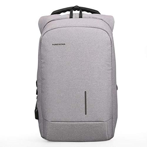 Mochila Backpack Impermeable Precio Especial, Mochilas Escolares para Hombres, Mochila De Moda para Hombres Gray13Inc Entrega Rápida Gratuita