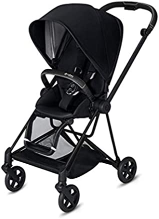 Cybex 2019 Mios 2 Complete Stroller in Premium Black with Matte Black Frame