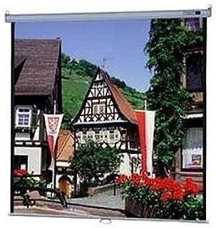 High Contrast Matte White Model B Manual Screen - AV Format Size: 50