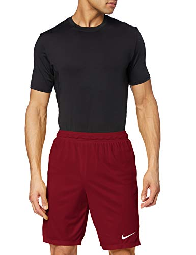 Nike Park II Knit Short NB Pantalón corto, Hombre, Rojo/Blanco (Team Red/White), XL