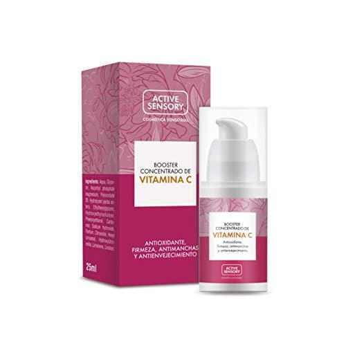 Active Sensory Booster Concentrado de Vitamina C - Sérum con Vitamina C Estabilizada para Proteger la Piel frente al Daño Oxidativo, Unificar el Tono y Aumentar la Luminosidad de la Piel - 25 ml
