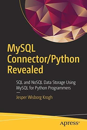 MySQL Connector Python Revealed SQL and NoSQL Data Storage Using MySQL for Python Programmers product image