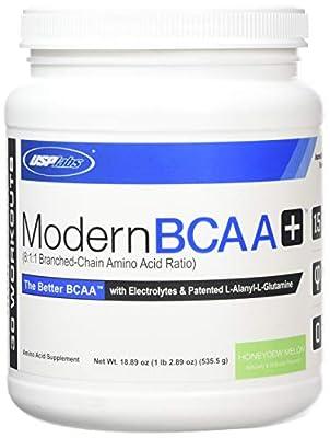 USP Labs Modern BCAA+ Honeydew Melon Pre-Workout Mix, 1lbs by USP Labs