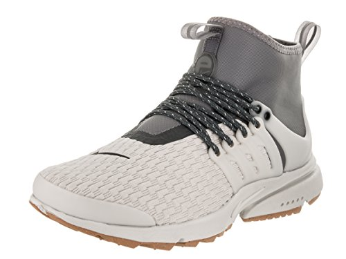 Nike Women's Air Presto Mid Utility PRM Light/Bone/Light/Bone Running Shoe 9 Women US