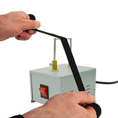 InLoveArts 45W Elektrisch Seilschneider für Nylonseil Heißes Messer Band heißes Heizungs Messer Elektroseil Schneider Maschine für das Seil Band elastisch Paracord Cord Flachgeflecht Gurtband