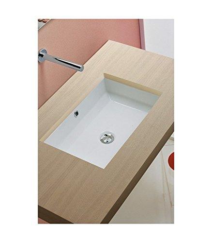 Waschtisch Tech Wandanschlussbogen durch Unterseite, Art.8037